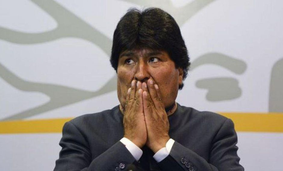 Evo Morales.  (Foto: Trome).