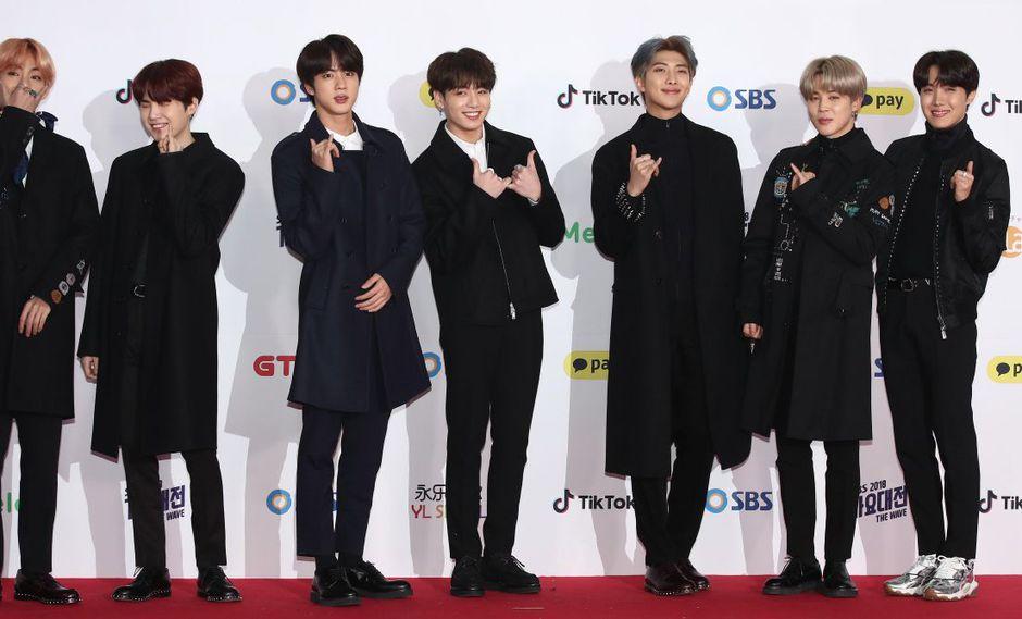 K-pop BTS (Foto: AP)