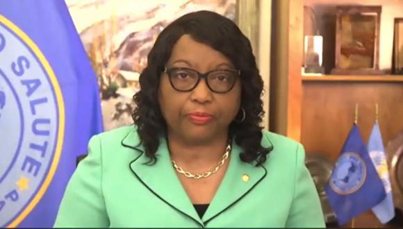 Carissa Etienne, la directora de la OPS, hizo un llamado a los países que forman parte del mecanismo Covax Facility para cumplir con responsabilidades a fin de evitar eventuales retrasos en la llegada de vacunas. (Captura: @opsoms)