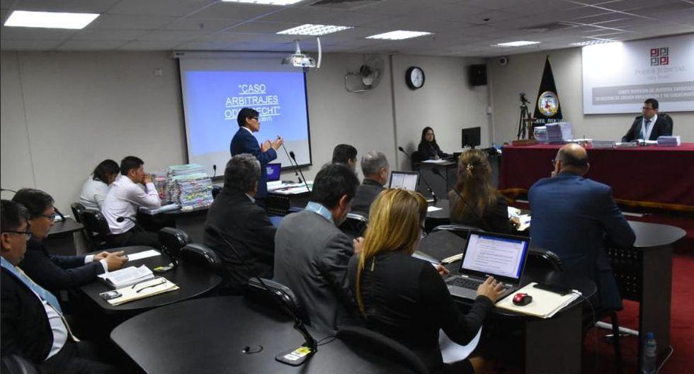 Según la tesis fiscal, los 14 árbitros recibieron sobornos de Odebrecht a cambio de emitir laudos a favor de la constructora. (Foto: Difusión)