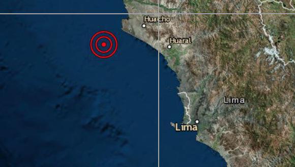 El epicentro de este movimiento telúrico se ubicó a 18 kilómetros al norte de Huaral. (Imagen referencial / IGP)