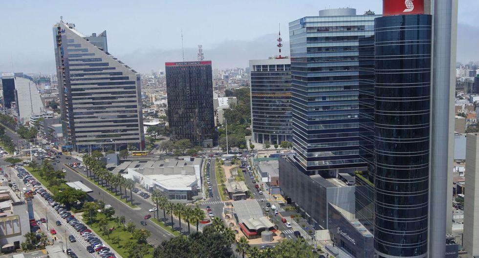 Centro financiero en San Isidro