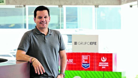 Meta. En 2020, como Grupo EFE, buscaremos crecer 20% en nuestras ventas, señaló José Antonio Iturriaga. (Foto: Manuel Melgar)
