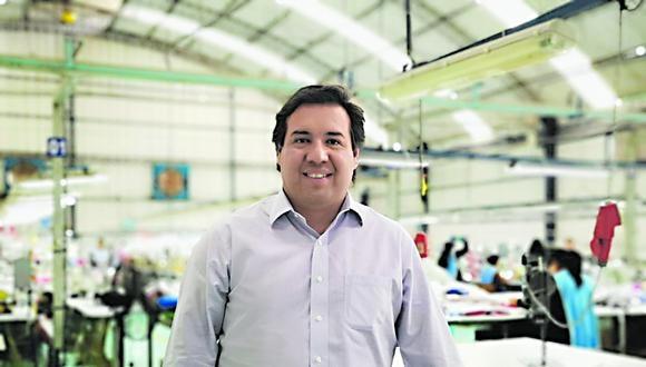 Juan José Córdova, Gerente General de la empresa Textil del Valle. (Foto; Difusión)