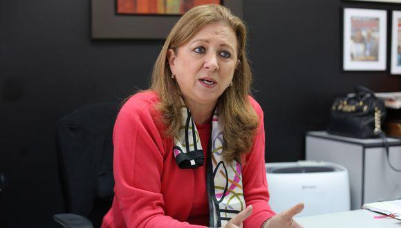 La presidenta de Confiep, María Isabel León, se mostró a favor de la bicameralidad.