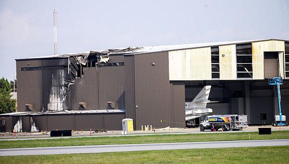 El avión se estrelló cuando despegaba del aeropuerto de Addison, en Texas. (Foto: AP)