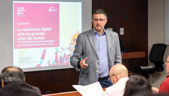 David Murillo, profesor del Instituto de Innovación Social de ESADE y co-autor del informe. (Foto: Difusión)