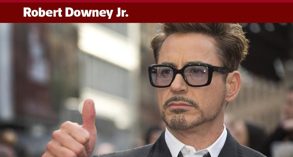 Hace años que Downey no toca el alcohol ni las drogas. Sus pasos por rehabilitación fueron muy sonados en los 90 y, mucho tiempo después, habla con toda naturalidad de su complicado pasado.