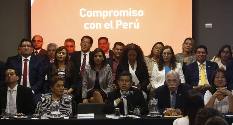 Con esta inclusión, el partido político Fuerza Popular puede ser objeto de diversos tipos de sanción como una posible disolución, la imposición de una multa (desde S/21, 000 hasta S/1'260,000) o la suspensión temporal de sus actividades. (Foto: GEC)