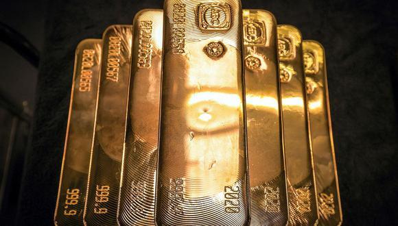 Los futuros del oro en Estados Unidos restaban un 0.6% a US$ 1,771.20 la onza. (Foto: AFP)