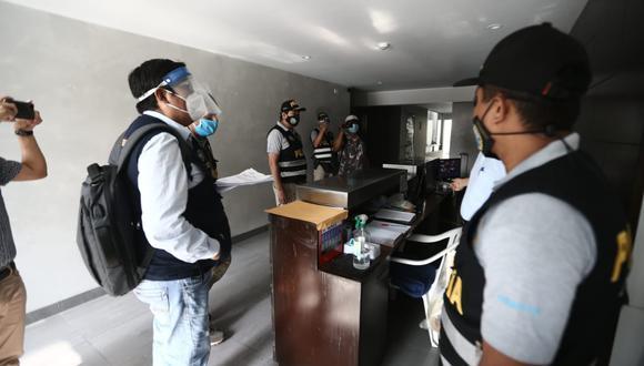 El ministerio Público realizó un allanamiento se realizó en 12 inmuebles, incluido el de Astudillo.  (Foto: Jesús Saucedo / @photo.gec)