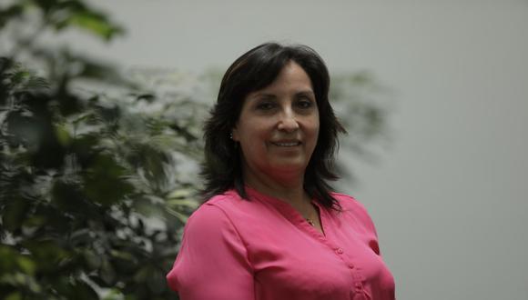 Dina Boluarte es la nueva ministra de Desarrollo e Inclusión Social. (Foto: Anthony Niño de Guzmán   Archivo El Comercio)