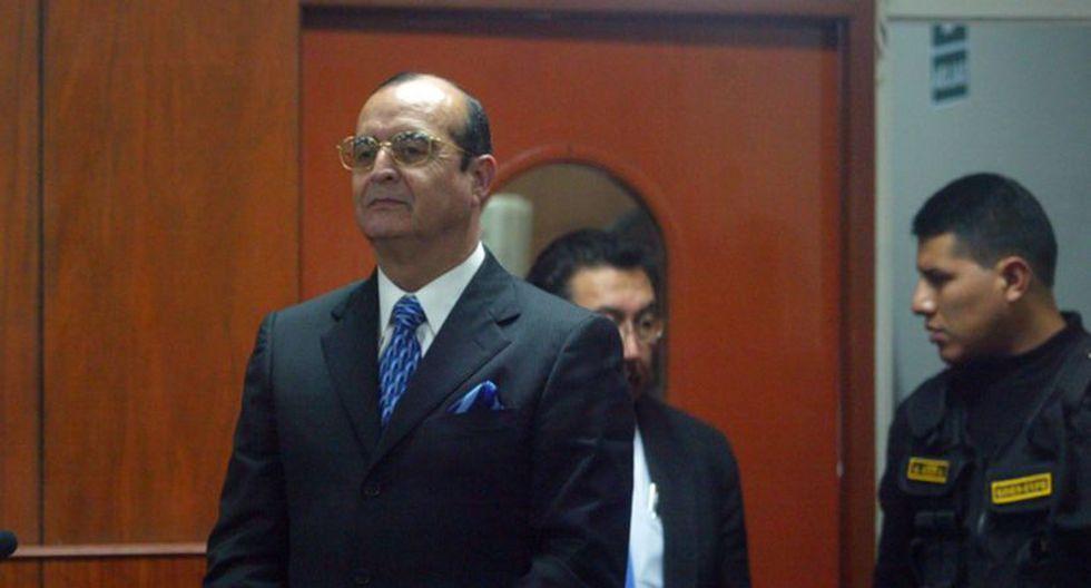 Montesinos cumple una condena de 25 años por los crímenes de Barrios Altos y La Cantuta en la Base Naval del Callao. (Foto: Andina)