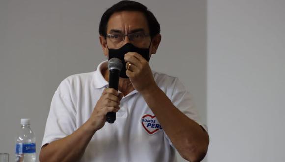 Martín Vizcarra había pedido reprogramar la citación por el caso 'Richard Swing'. (Foto: Randy Reyes/ GEC)