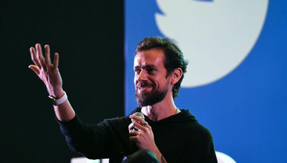 Jack Dorsey, fundador de Twitter. (Foto: AFP)
