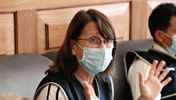 Pilar Mazzetti hace un llamado a los peruanos para evitar los contagios.