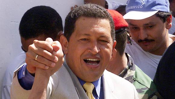 Hugo Chávez gobernó Venezuela durante 14 años. (Photo by JORGE UZON / AFP)