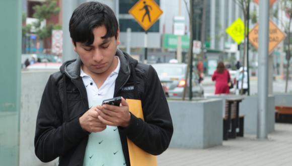 El envío de mensajes de texto es más seguros en casos de emergencia.(Foto: GEC)