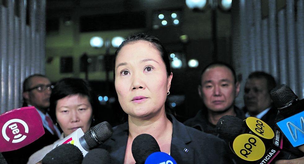 Meditación. Desde el 28 de diciembre, el Poder Judicial evalúa la prisión preventiva contra Fujimori. Hoy continúa la audiencia. (Foto: GEC)