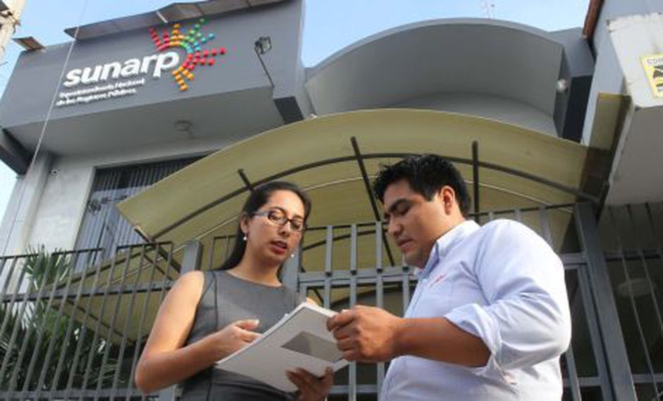 La Superintendencia Nacional de Registros Públicos. (Foto: USI)