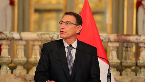 Martín Vizcarra aseguró que el fiscal superior Rafael Vela y todo el equipo especial del caso Lava Jato cuenta con su respaldo y apoyo en las investigaciones que se encuentran realizando. (Foto: Presidencia Perú)