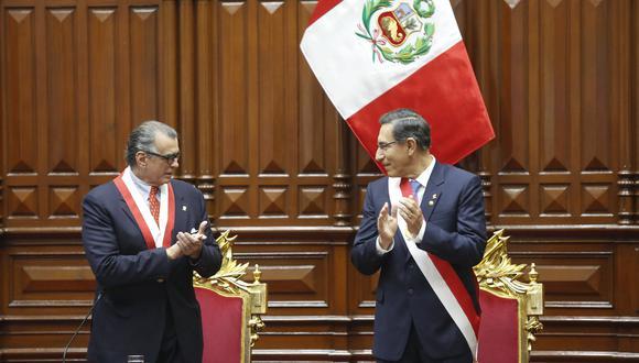 Olaechea advierte a Vizcarra que si cierra el Congreso cometerá infracción constitucional
