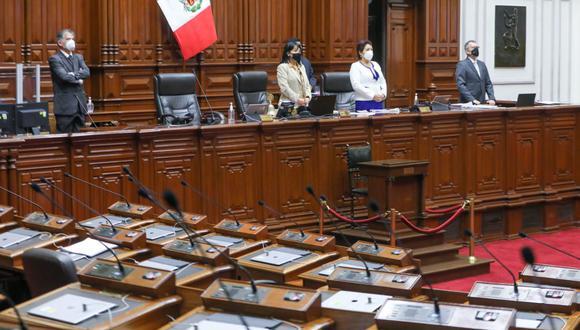 El Pleno desestimó el pedido del legislador César Gonzales Tuanama para censurar a la Mesa Directiva del Congreso presidida por Mirtha Vásquez. (Foto: Congreso)