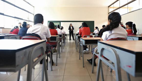 Escolares. (Foto: GEC)