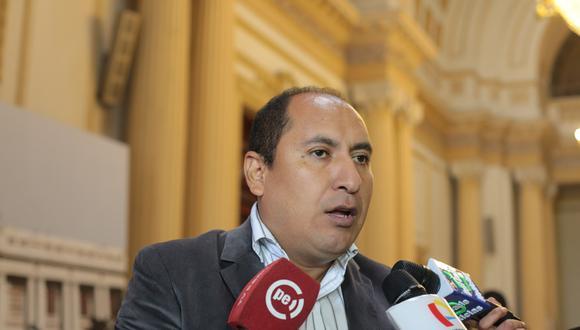 """Arce remarcó que su renuncia es irrevocable y que """"el papelón ya se ha hecho"""". (Foto: GEC)"""