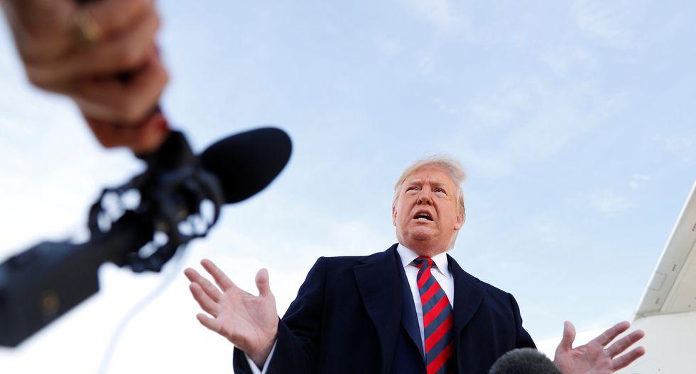 """""""China tiene muchas ganas de lograr un acuerdo"""", afirmó Donald Trump. (Foto: Reuters)"""