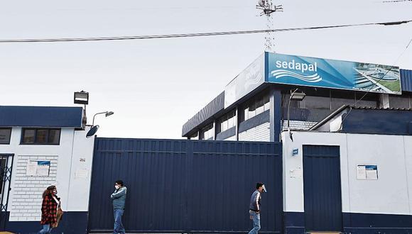 Responsabilidad.  Contraloría encontró en el 2019 presunta responsabilidad en funcionarios de la AATE y en Sedapal por el aniego. (Foto: GEC)
