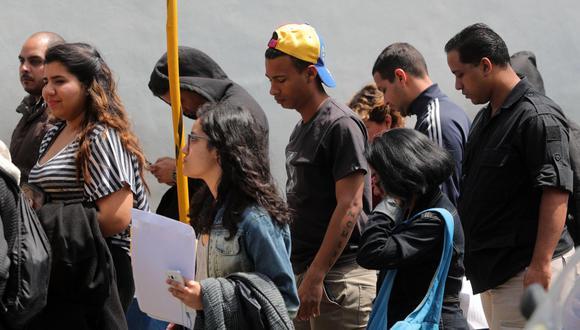 Venezolanos. (Foto: EFE).