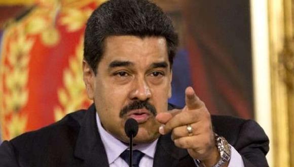 """Expertos designados por la OEA concluyeron que existía un """"fundamento razonable"""" para considerar que once individuos, entre ellos Nicolás Maduro, habían cometido crímenes de lesa humanidad. (Foto: EFE)"""