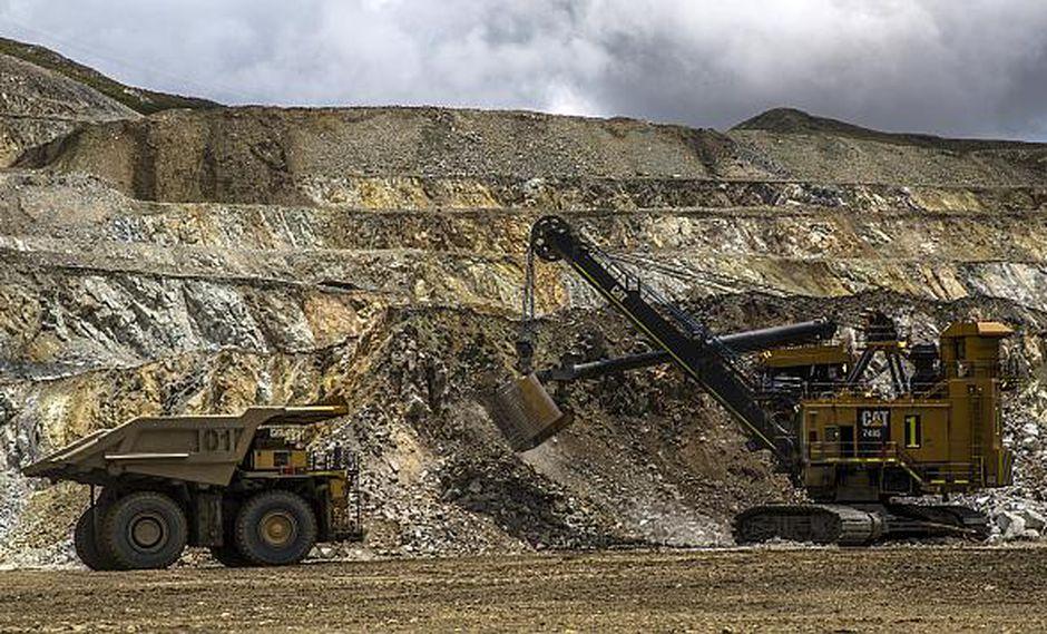 Las inversiones en minería repuntaron 27% a octubre en el país. (Foto: AFP)