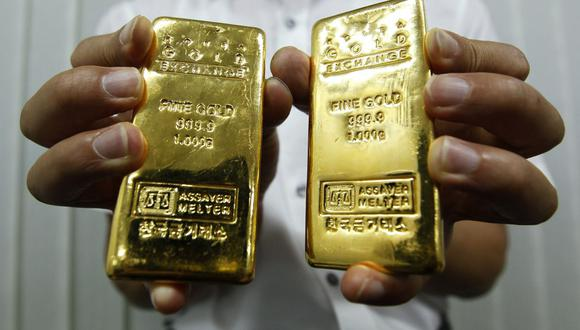 Los futuros del oro en Estados Unidos perdían un 0.7% a US$ 1,861.20. (Foto: Reuters)