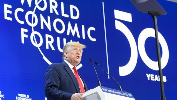 Donald Trump. (Foto: EFE)
