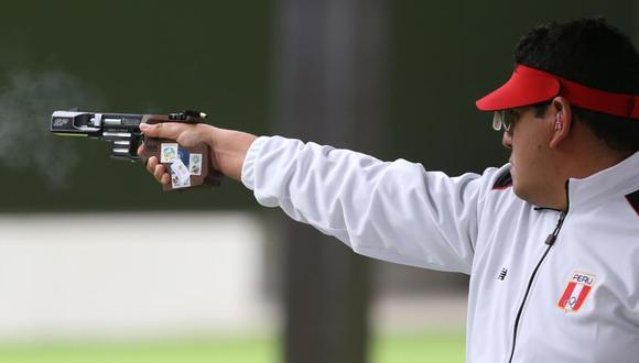 Marko Carrillo fue el representante peruano en tiro rápido con pistola los Juegos Panamericanos. (Foto: Violeta Ayasta / GEC)