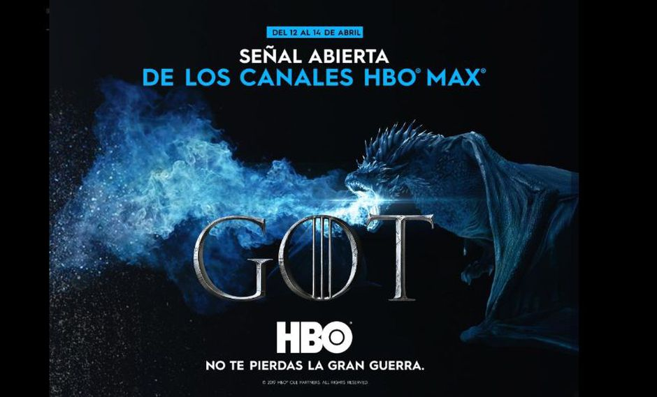 """Game of Thrones"": HBO libera señal en Latinoamérica para el primer capítulo de la última temporada (Foto: Game of Thrones)"