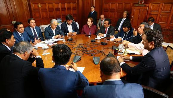 El Consejo Directivo se reunirá a las 3:30 p.m. para definir la presidencia de la comisión de Economía. (Foto: GEC)