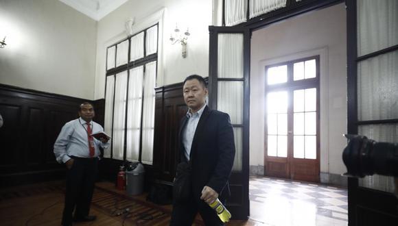 Kenji Fujimori es acusado de haber ofrecido que el Poder Ejecutivo ofrezca obras a favor de la región de un legislador que vote en contra de la vacancia. (Foto: Leandro Britto / GEC)