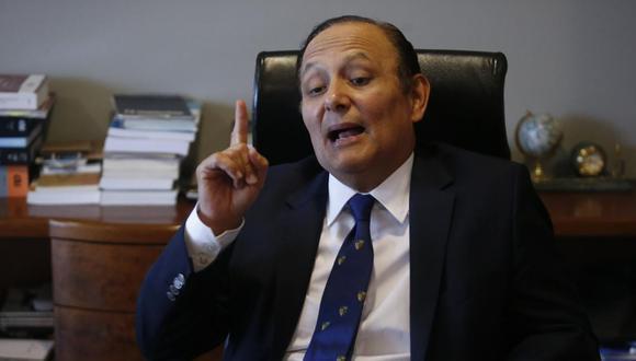 """Gutiérrez pidió al Gobierno """"sentarse"""" a conversar con la población del valle del Tambo para tomar una decisión definitiva respecto al proyecto Tía María. (Foto: GEC)"""