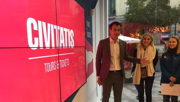 """""""La demanda del sector nos ha llevado a abrir una nueva línea de actividad de mano de las agencias de viajes"""", explicó Alberto Gutiérrez, fundador y CEO de Civitatis. (Foto: Civitatis)."""