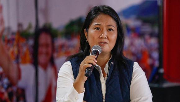 """Fujimori Higuchi agradeció al grupo de """"abogados democráticos o independientes"""" que han apoyado a Fuerza Popular en las solicitudes de impugnación. ( Foto: AFP / Gian MASKO)"""
