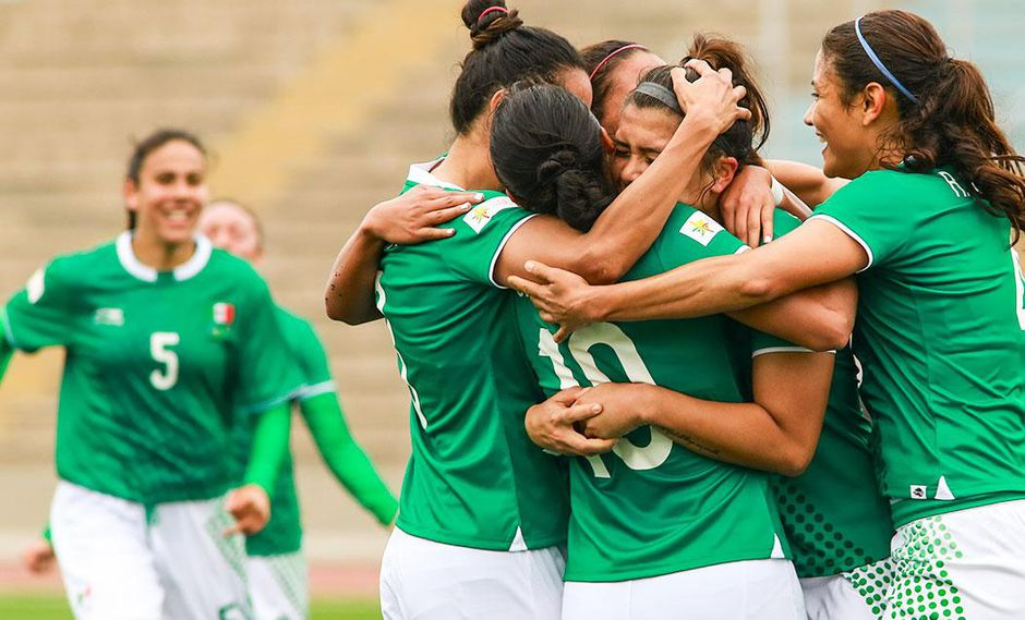 La selección mexicana femenina de fútbol inició con una victoria ante Trinidad y Tobago(Foto: Jose Tejada / Lima 2019)
