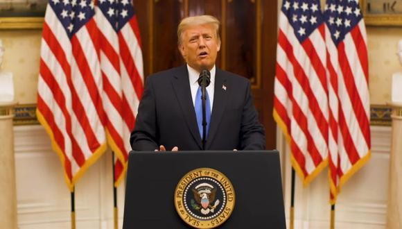 Donald Trump suspendió este martes la deportación de inmigrantes irregulares venezolanos. (Foto: EFE/EPA/WHITE HOUSE)