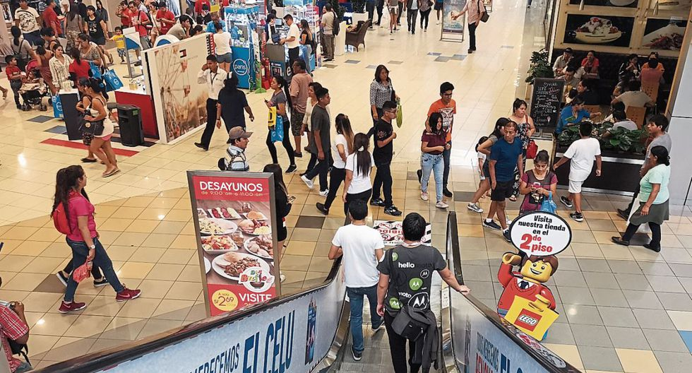 Expectativa. El Perú aún tiene espacio para mejorar la penetración de centros comerciales por habitante. (Foto: GEC)