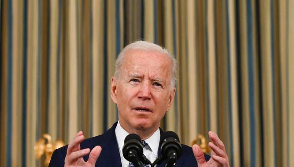 Imagen del presidente de Estados Unidos, Joe Biden. (Foto: Jim WATSON / AFP).