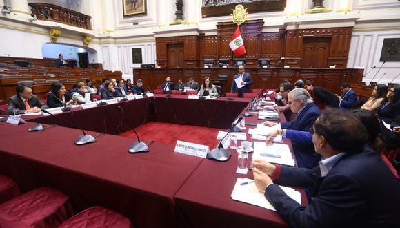 Esta decisión se produjo con 12 votos a favor y 5 en abstención en la Comisión de Constitución. (Foto: GEC)