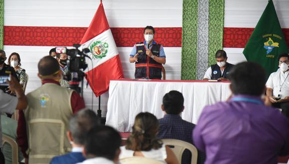 Loreto: gobernador pide al Ejecutivo cerrar frontera con Brasil por nueva variante del COVID-19 (Foto: GOREL)