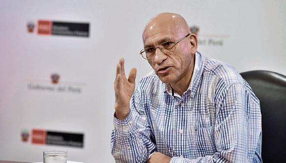 Waldo Mendoza, ministro de Economía y Finanzas. (Foto: GEC)